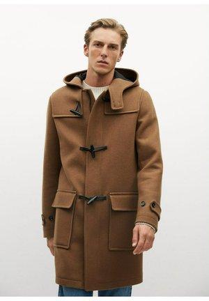 FARO - Classic coat - middenbruin