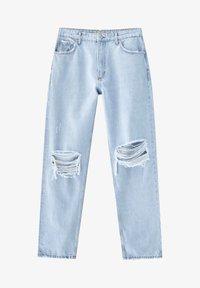 PULL&BEAR - Straight leg jeans - blue - 7