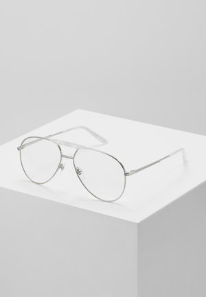Sunglasses - silver/transparent