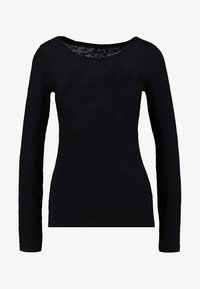 Marc O'Polo - LONGSLEEVE - Long sleeved top - black - 3