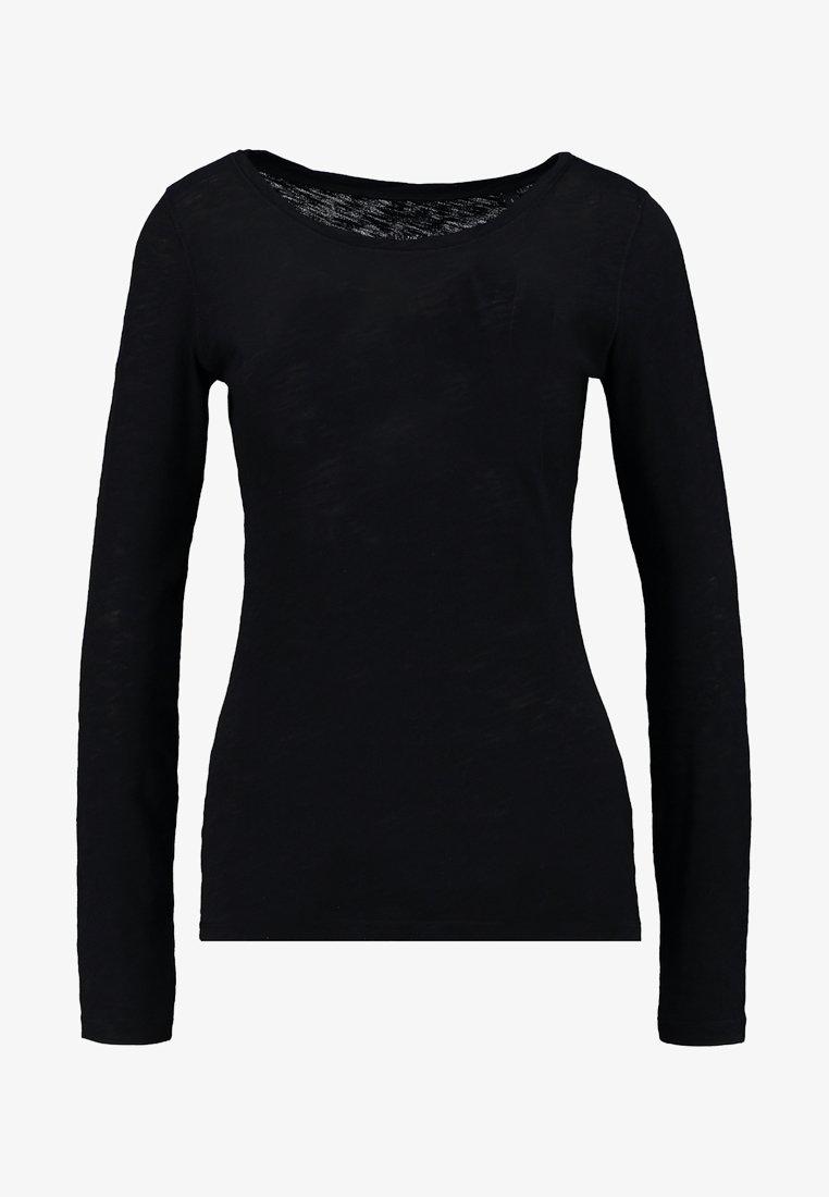 Marc O'Polo LONGSLEEVE - Langarmshirt - black/schwarz g9UhFH
