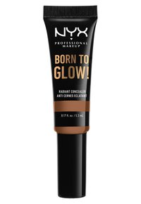 Nyx Professional Makeup - BORN TO GLOW RADIANT CONCEALER - Concealer - 16 mahogany - 1