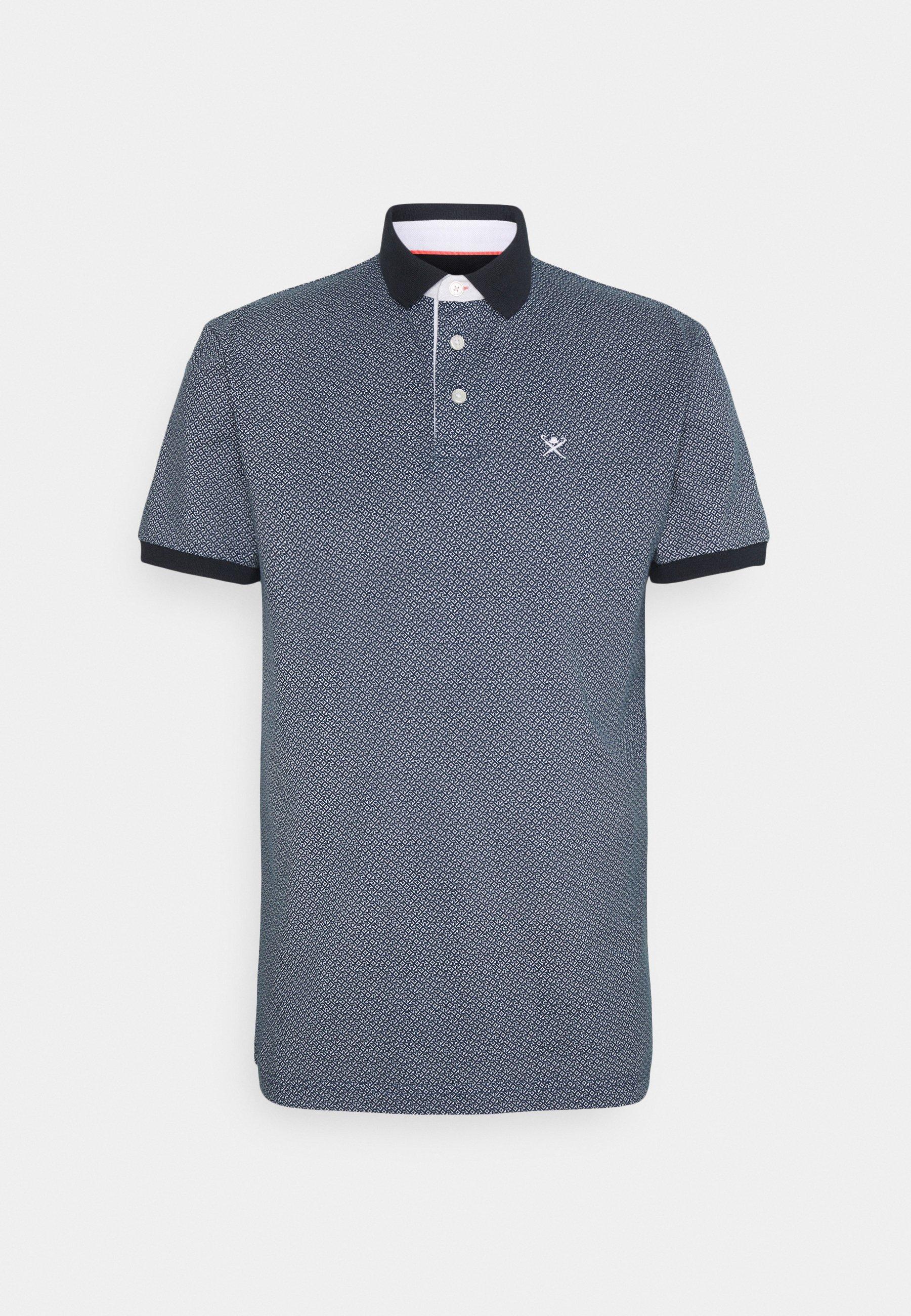 Men GEO ALLOVER  - Polo shirt