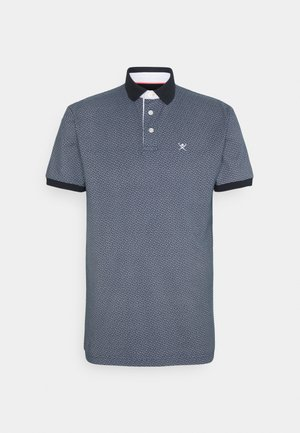 GEO ALLOVER  - Polo shirt - navy/white