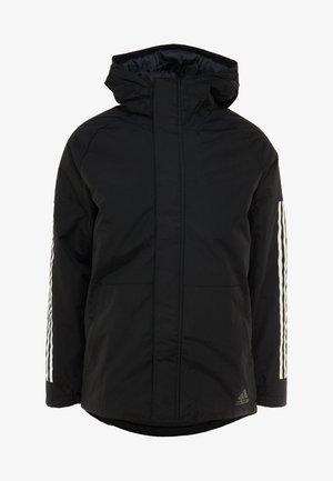 XPLORIC 3-STRIPES WINTER JACKET - Zimní bunda - black