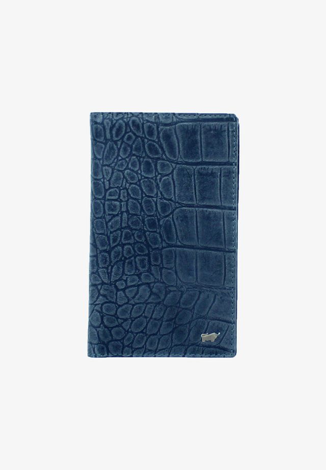 LISBOA IN KROKODIL - Wallet - blue
