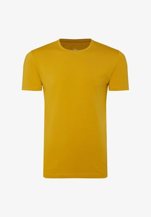 Basic T-shirt - mustard yellow