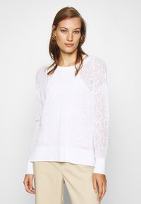Calvin Klein Jeans - RELAXED - Jumper - bright white - 1