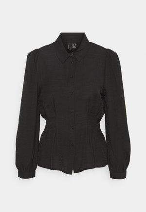 VMCLOVER - Button-down blouse - black
