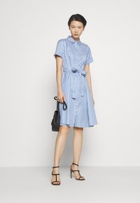 HUGO - EKALIANA - Shirt dress - light/pastel blue - 2