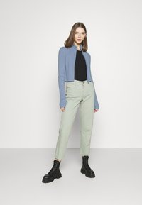 Monki - LISSA CARDIGAN - Cardigan - blue dusty light - 1