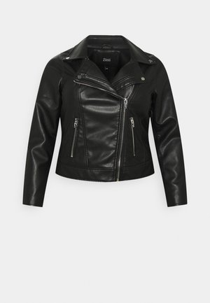 MMERLE JACKET - Giacca in similpelle - black