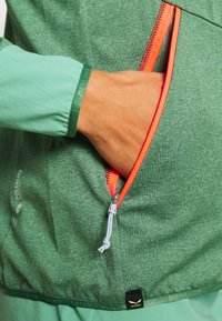 Salewa - AGNER HYBRID  - Fleece jacket - feldspar green melange - 5