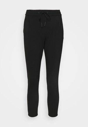 VMEVA LOOSE STRING PANTS - Bukse - black