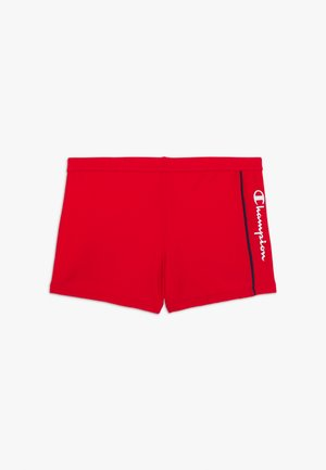SWIMMING TRUNK - Uimahousut - red/navy