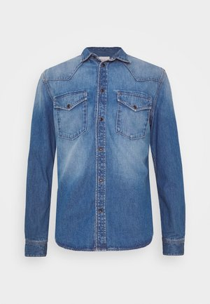 NOAH - Shirt - blue denim