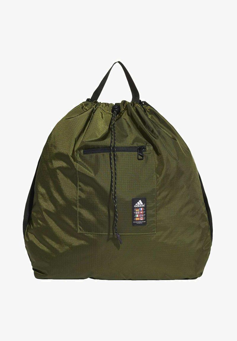 adidas Performance - XPLORER PRIMEGREEN SHOPPER BAG - Drawstring sports bag - green