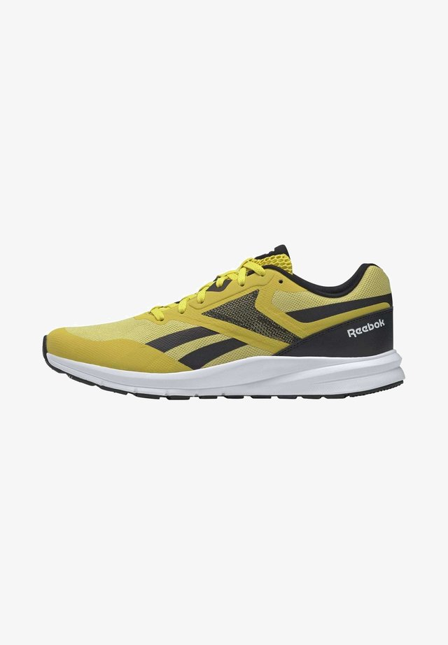 REEBOK RUNNER 4.0 SHOES - Stabilty running shoes - yellow