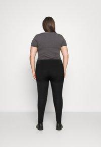 Persona by Marina Rinaldi - OFELIA - Leggings - Trousers - black - 2