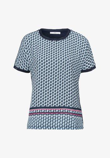 STYLE CAELEN - Print T-shirt - navy