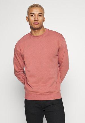 RELAXED CREW - Sweatshirt - burnt orange