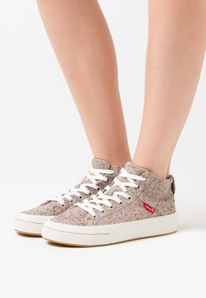 SHERWOOD  - Sneakers high - beige