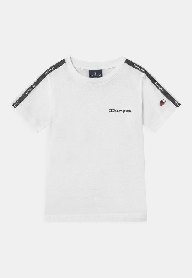 AMERICAN CREWNECK UNISEX - T-shirt imprimé - white