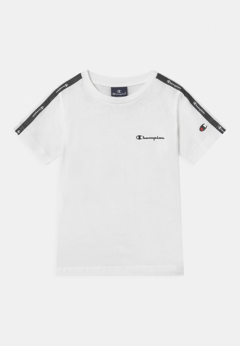 Champion - AMERICAN CREWNECK UNISEX - Print T-shirt - white