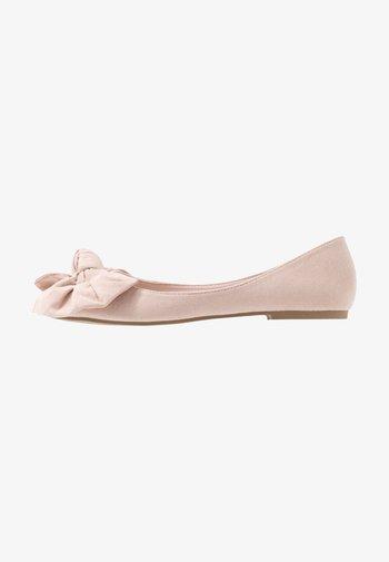 BOW  - Baleriny - dusty pink