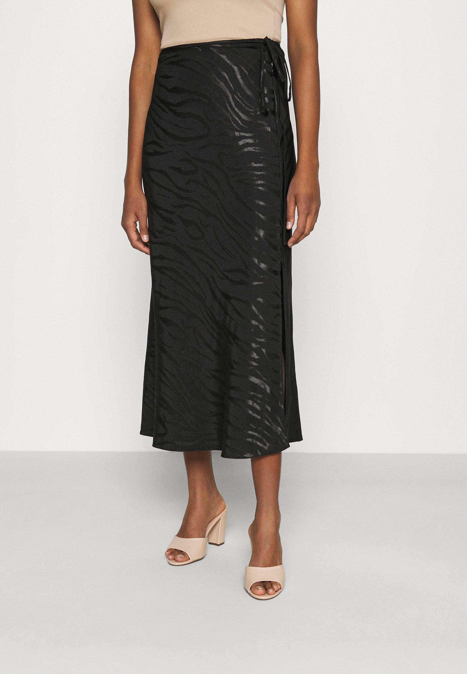 Women NEW BIAS JACQUARD - Pencil skirt
