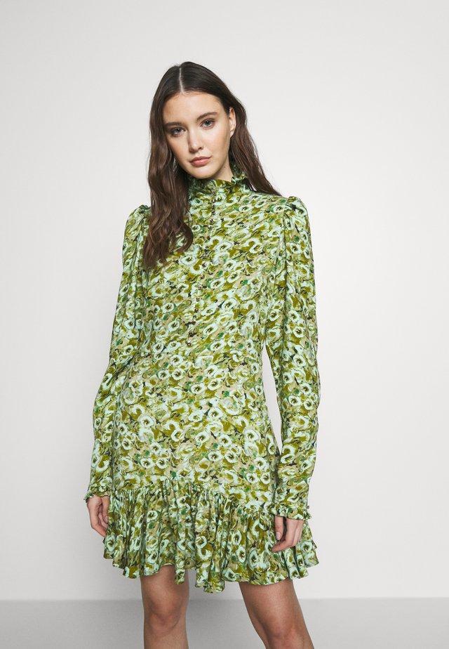 AMALIE DRESS - Day dress - chalk green