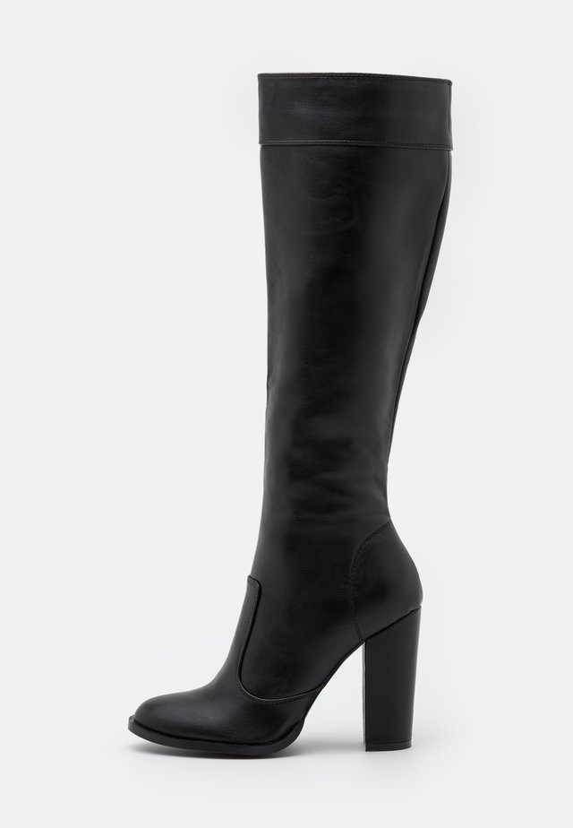 KOLUMN - High heeled boots - black