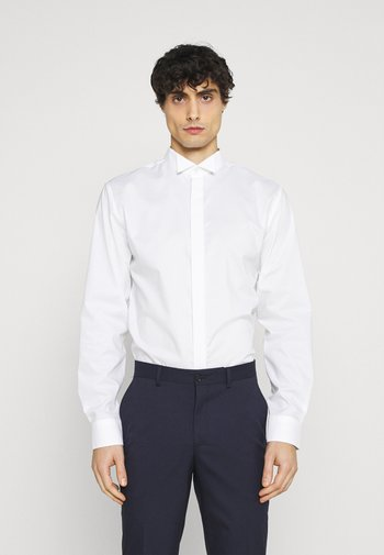 SLHSLIMTRISTAN TUX - Camicia elegante - bright white