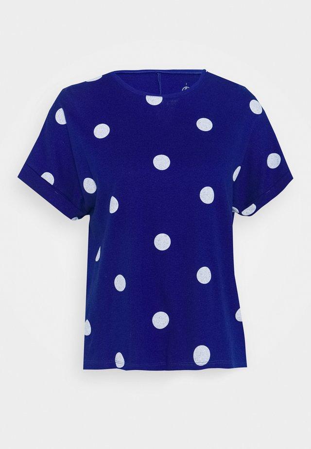 T-Shirt print - surf/marshmallow