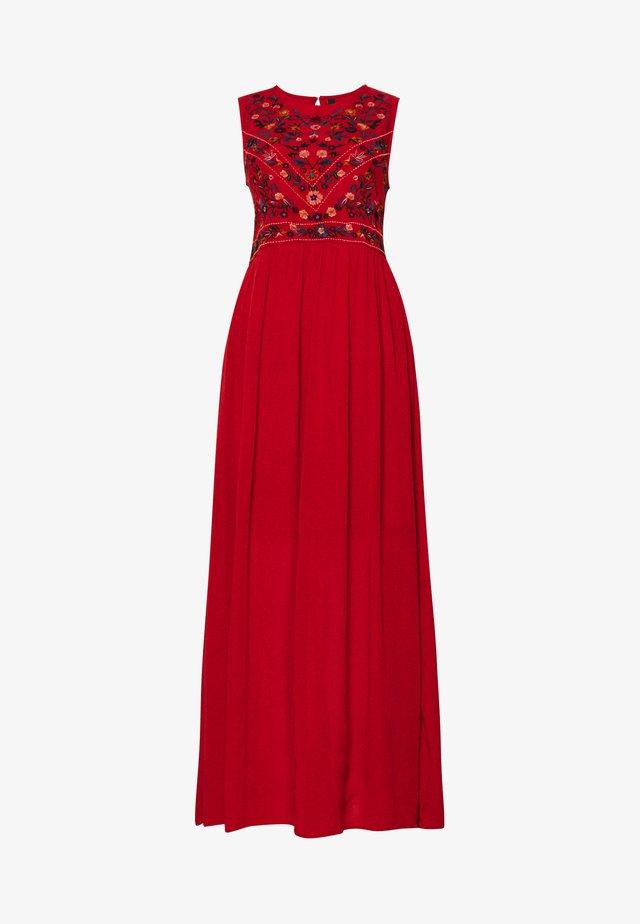 YASCHELLA DRESS  - Maxi dress - red ochre