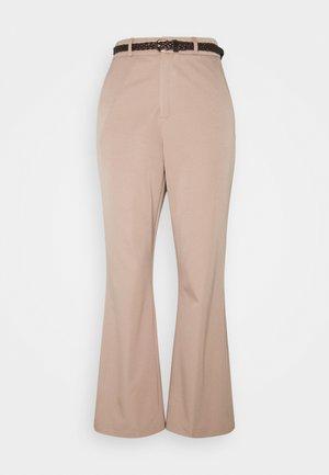 SAVANAH TROUSER - Kalhoty - beige