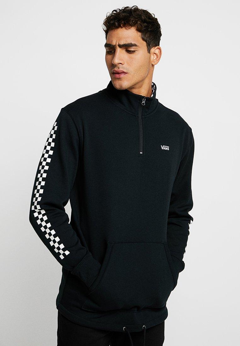 Vans - MN VERSA QZP - Sweatshirt - black