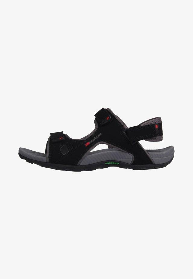 ANTIBES  - Sandales de randonnée - black/anthracite