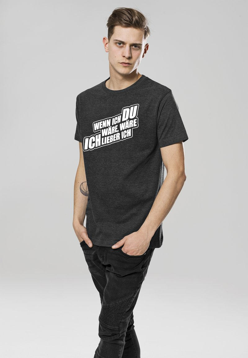 Mister Tee - T-shirt print - charcoal