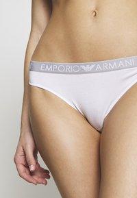 Emporio Armani - THONG 2 PACK - Thong - bianco - 4