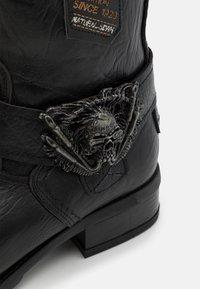 New Rock - UNISEX - Kowbojki i obuwie motocyklowe - black - 5