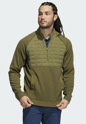 QUARTER - Zip-up sweatshirt - green