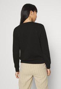 Scotch & Soda - CREWNECK EMBROIDERED ARTWORK - Sweater - black - 2