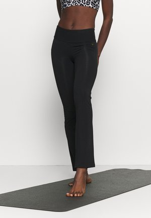 FIT PANTS - Punčochy - black