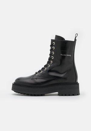 JENN BOOT  - Platform-nilkkurit - all black