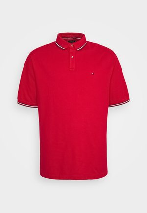 TIPPED POLO - Piké - primary red