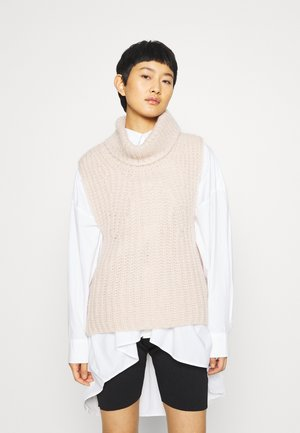 IVORY VEST - Jumper - crystal gray