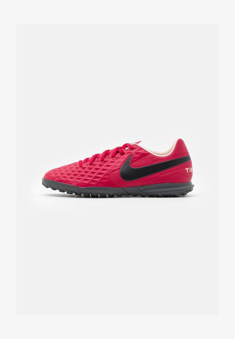 Nike Performance - TIEMPO LEGEND 8 CLUB TF - Astro turf trainers - cardinal red/black/crimson tint/white
