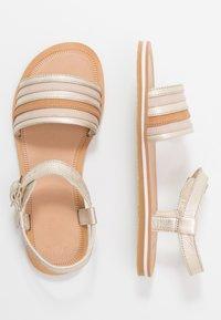 Clarks - FINCH STRIDE - Sandals - metallic - 1