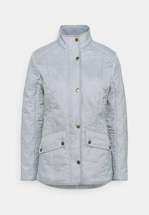 CAVALRY POLARQUILT - Light jacket - ice white/silver ice